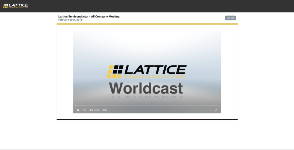 GLobal Live Webcasting by ICV