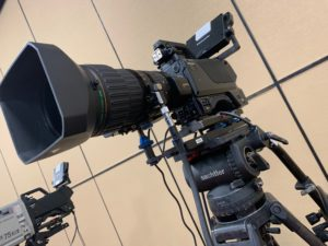 Panasonic FIber Camera with Long Lens