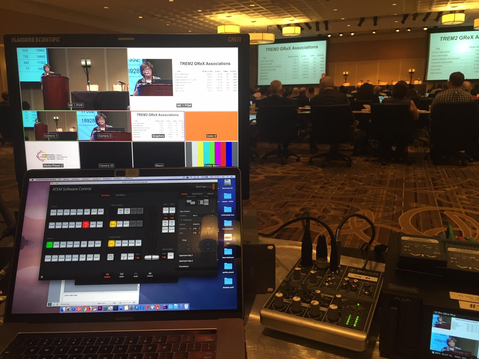 Washington DC – ICV Digital Media live streaming for the IDDA.